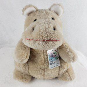 Vintage Daekor The Potbellies Hippo plush